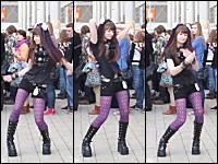 コスプレ会場のみなさんにダンスを披露してもらいました動画2012。ポーランド