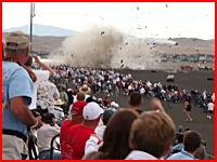 リノ・エアレースの墜落事故でより近場から撮影された画質の良い映像アップ