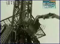 恐怖の遊園地!垂直落下事故 地上27mから落下