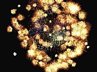 日本の花火SUGEEEEEE!と海外で話題になっていた一発の超巨大花火。