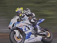マン島TTレースで死亡した松下ヨシナリさんが走る最後の姿。TAS Racing