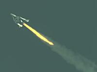 スペースシップツーが初のエンジン動力飛行試験を成功させ音速を突破!