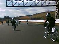 富士スピードウェイをママチャリで一周するオンボードカメラ。スーパーママチャリGP最終戦