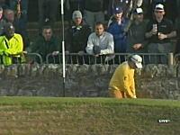 壁返し!?ゴルフ全英オープンでプロゴルファー猿をやってみたら成功した!