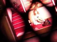 男の楽園「飛田新地」を撮影した新しい動画。ピンクに照らされるお姉さんたち。