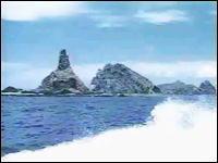 日本青年社の動画 「尖閣諸島上陸記録」 魚釣島漁場灯台、保守点検作業