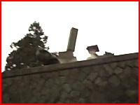 倒れる墓石。町の全ての建物がゴウゴウと音を立てる大地震。3.11福島県