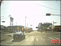 こんなバカな事故は見たことが無い。岩手県北上市北鬼柳15地割の事故。