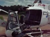 なんぞwwwヘリコプターが自分でフルボッコ&スクラップ。乗客4人は軽傷。