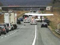 高速道路に緊急着陸するセスナ172の映像。これはGJだけどびっくりだな。
