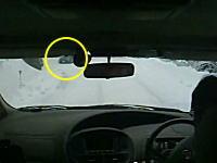 雪道を走っていたら向かいのインプレッサがドリフトしながら突っ込んできたwww
