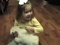 我が家に子犬がやってきた日。サプライズに喜ぶ人(こども)たちの映像集。