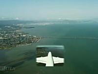 旅客機パイロットのお仕事動画。サンフランシスコに着陸するエアバスA380。