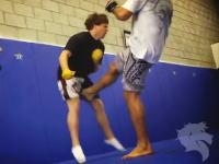 自らの金玉を痛め続ける男がブラジリアン柔術の王者のキックに挑戦してみた