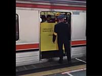 はてブで話題!ドアの故障で開けたまま出発する武蔵野線の珍しい映像。