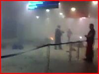 モスクワの空港で起きた爆発テロ直後の映像が動画サイトにアップされる