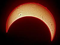 ネットで買える太陽望遠鏡で撮影された金環日食の映像が凄い。4608×3456画像