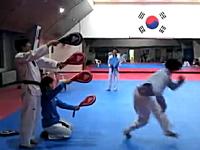 世界が韓国に驚いた。韓国人による回転4段蹴りの動画が複数転載され人気