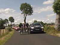 これは酷い。ツール・ド・フランスでテレビ局の車が選手を当て逃げwwwww