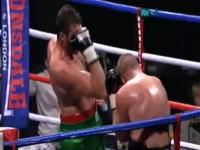 ボクシング面白ハプニング1対1だと思ってたのに1対1.5だった(@_@;)