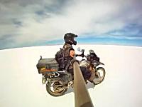 旅に出たくなる動画。バイクでアラスカからアルゼンチンまで503日間132,000kmの記録