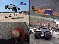 1000mg小ネタ集Part.75。砂山ジャンプで飛び過ぎた車。飛距離なげえwww