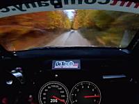 高画質。森の中を200km/hオーバーで駆け抜けるラリーカーの車載映像。