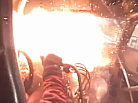 衝撃の車内映像。ドラッグレースでクラッチが壊れると恐ろし事になるプーン。